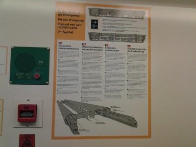 The Eurotunnel train diagram