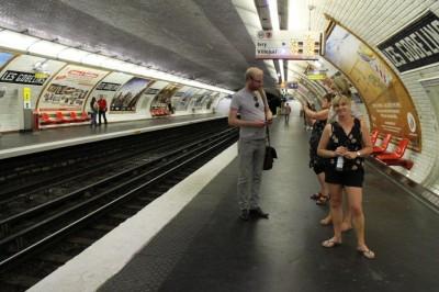 A very quiet Metro
