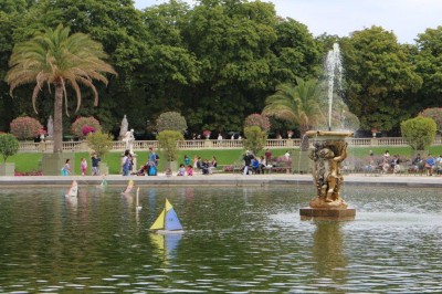 Pond in the gardens