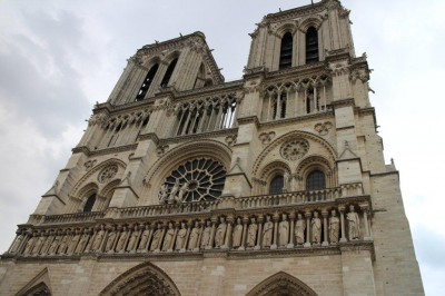 The top of the Norte Dame