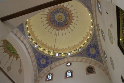The ceiling of the Mosque