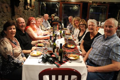 And this is the other half of our tour group. Well those who chose to go to the dinner :-)