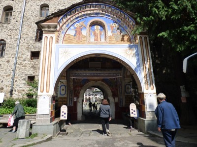 Going in to the Monastery