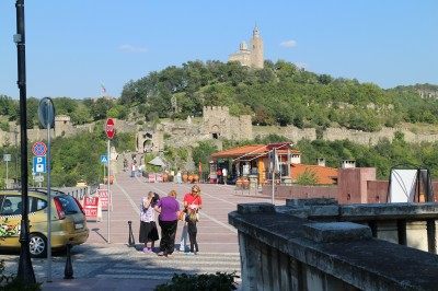 Walking over to the fortress