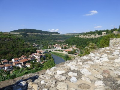 The view of the Yarna River below