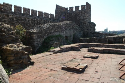 The ruins of the old fortress