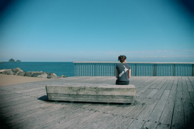 This is the best spot to stop and reflect on our beautiful city, the joy of the walkway and the wonderful view of the Pacific Ocean. Love New Zealand, Love New Plymouth and I love my daughter :-)